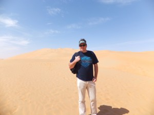Our Desert Trek in the Empty Quarter