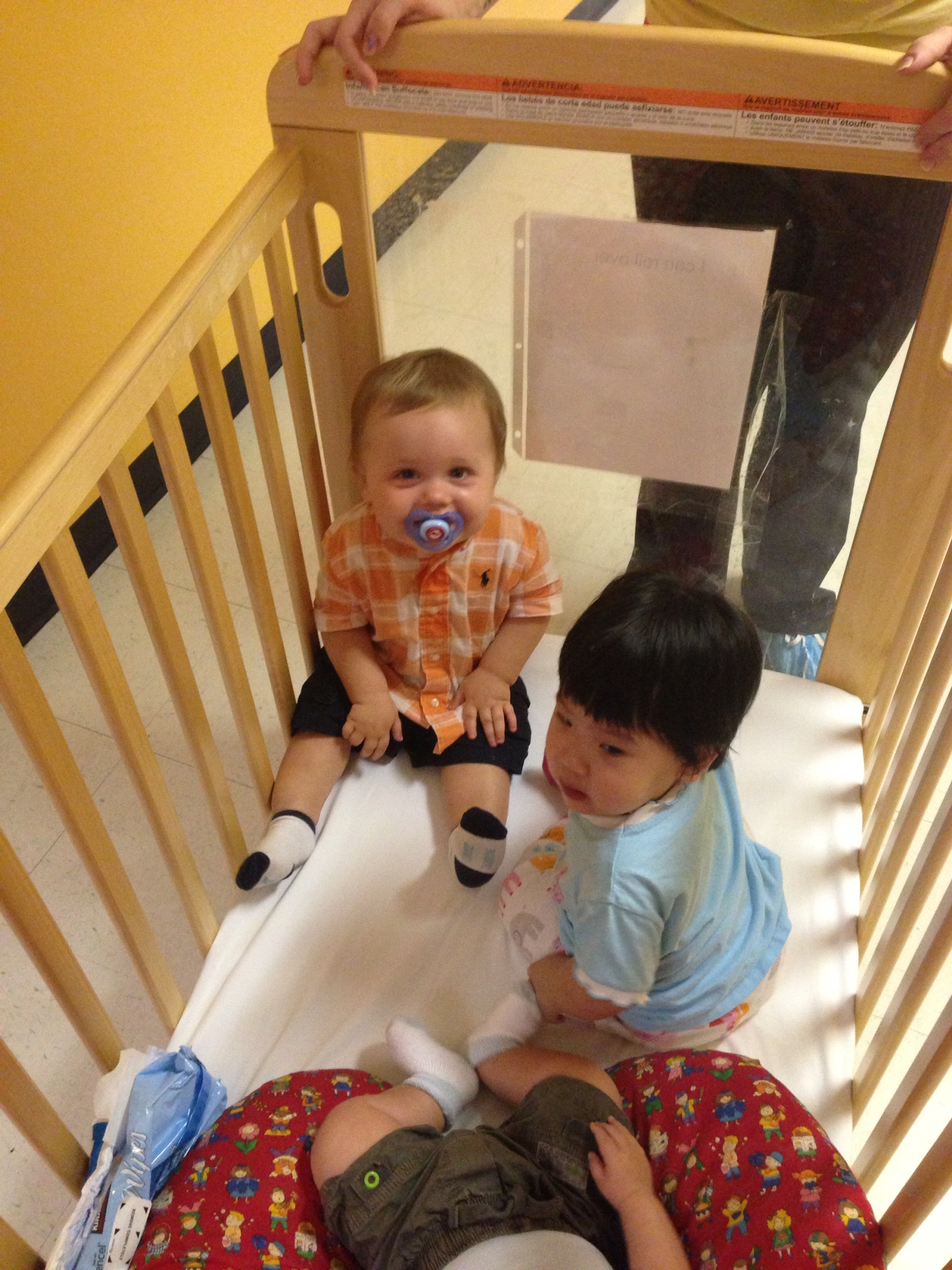 Making New Friends at Daycare