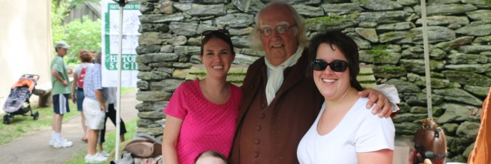Meeting a Founding Father