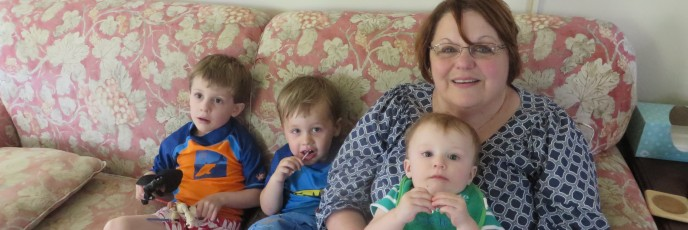 Nonna and her boys