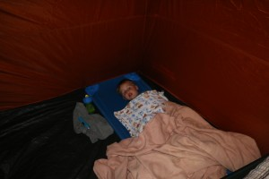 Colin's First Camping Adventure