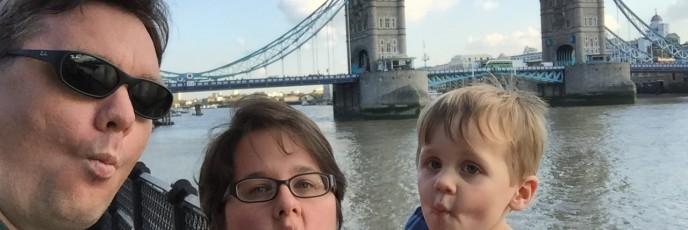 Tower fish-face selfie
