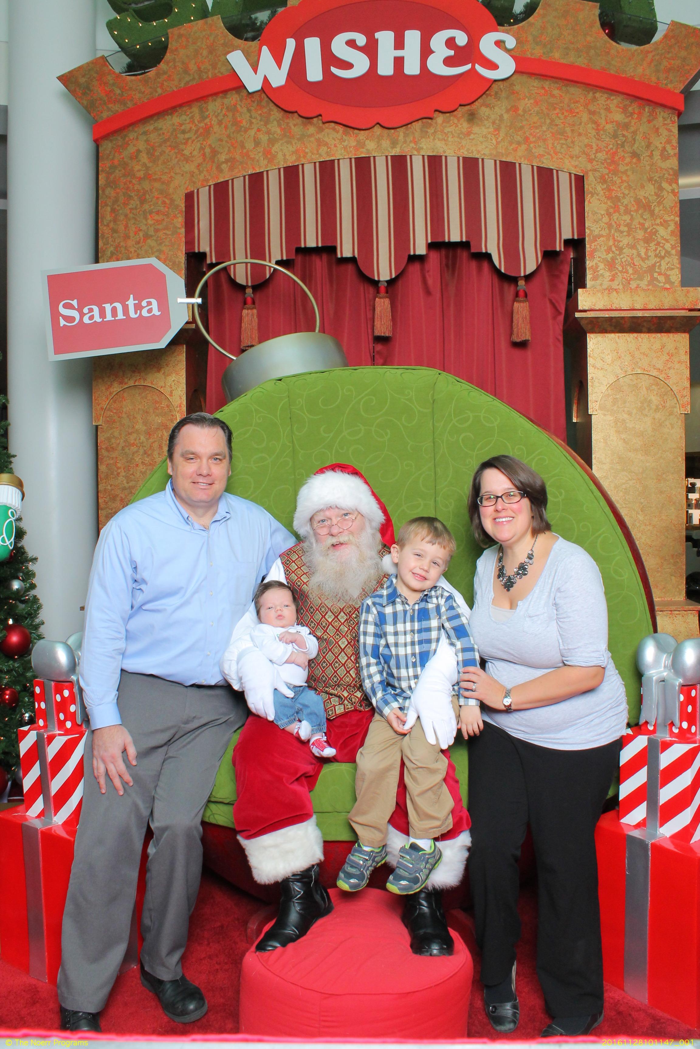 A Perfect Santa Visit
