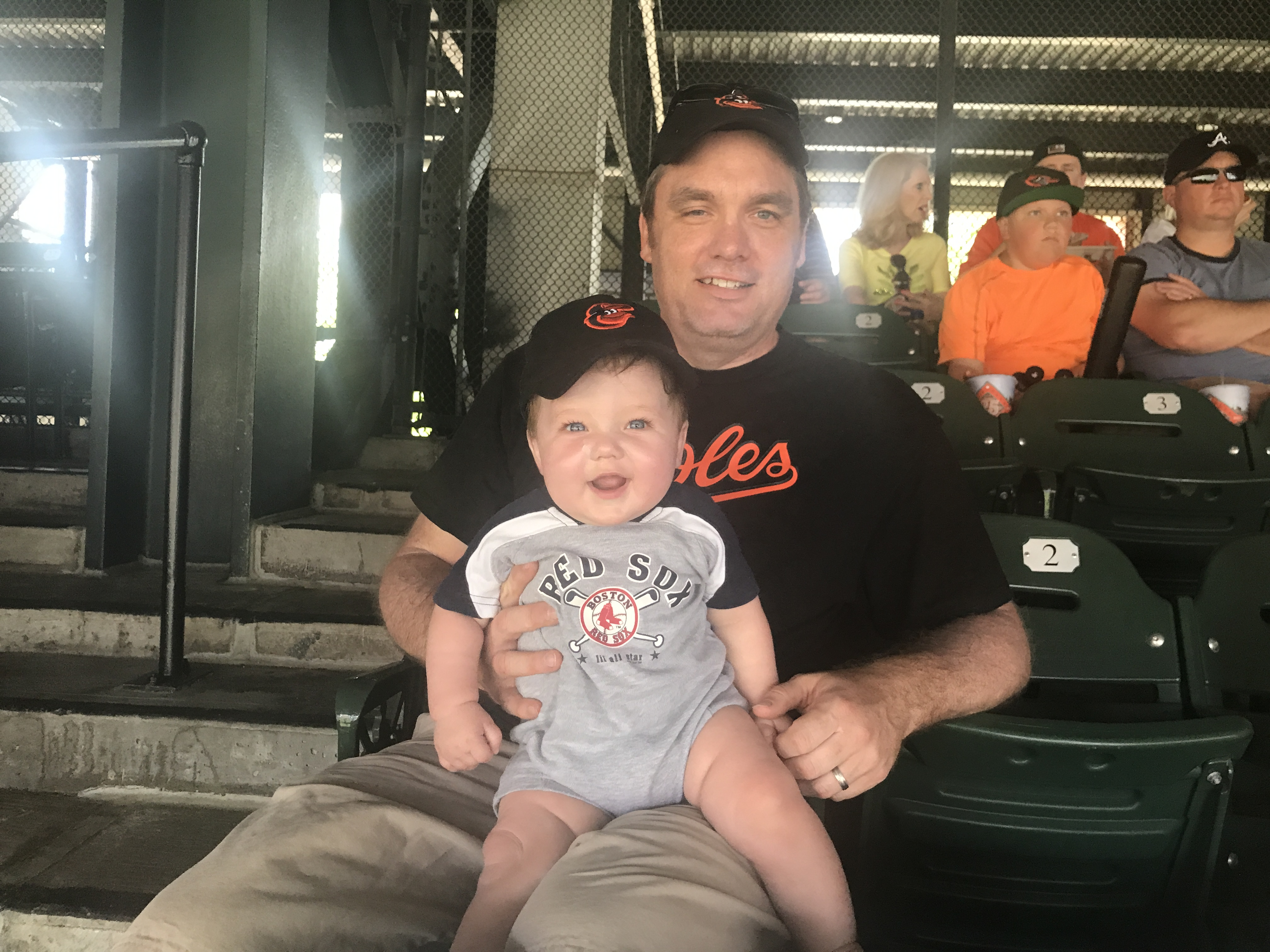 Owen's First MLB Game