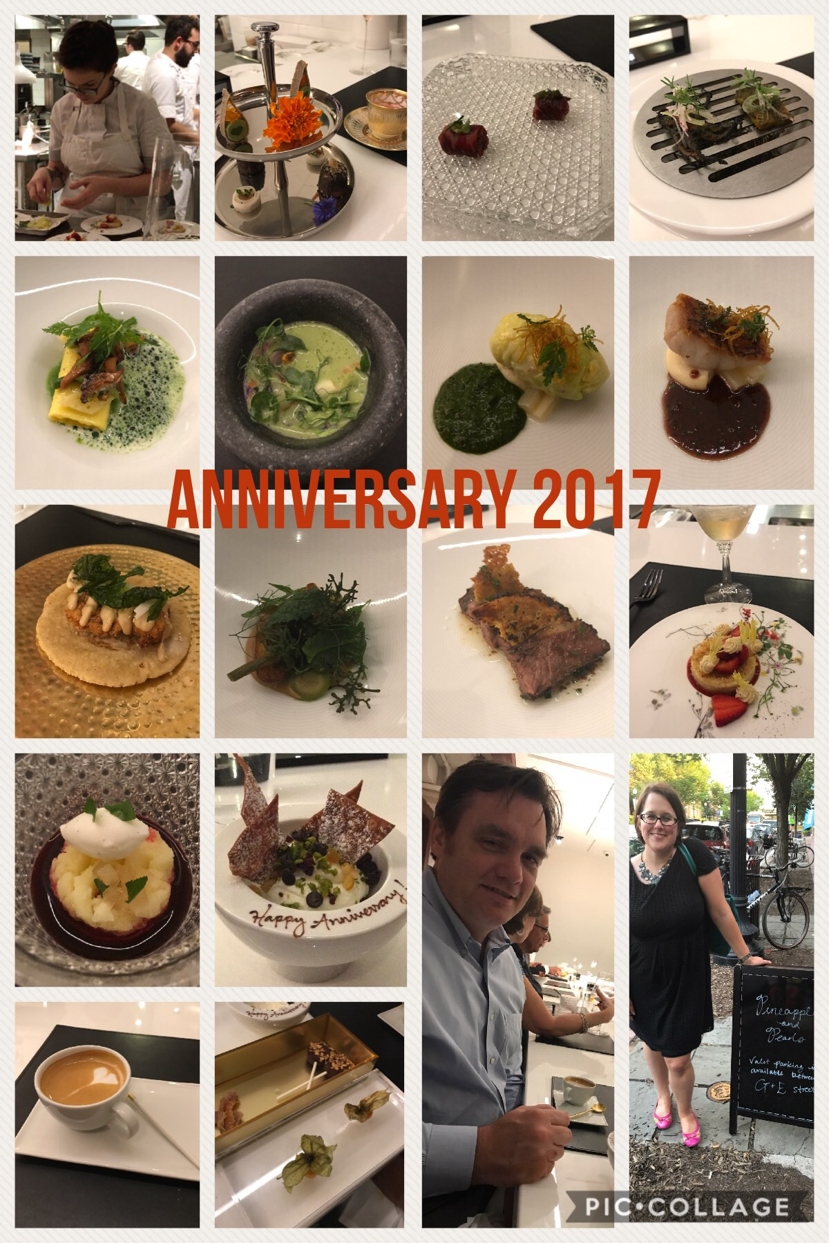 Anniversary Dinner All Out
